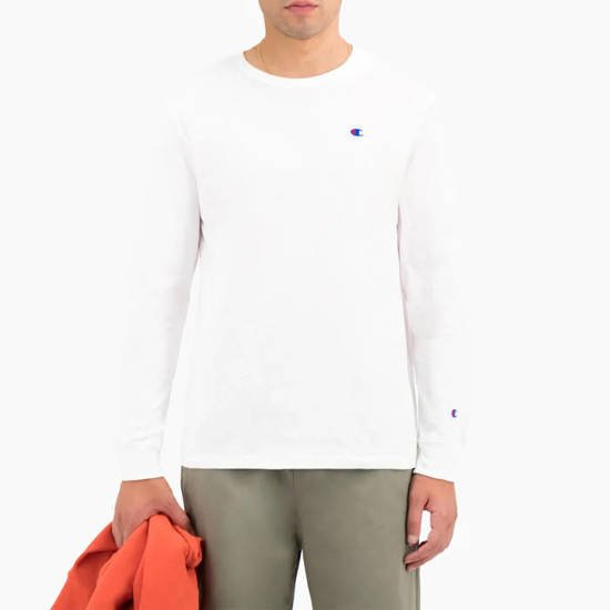 Champion Crewnceck Longsleeve T-Shirt 214923 WW001