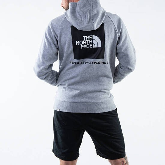 The North Face Raglan Red Box Hoodie NF0A2ZWUDYX