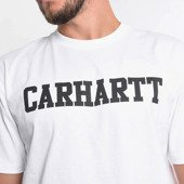 Carhartt College T-Shirt I024772 WHITE/BLACK