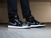 Men's Shoes sneakers Nike Air Jordan 1 Mid Prem 852542 001