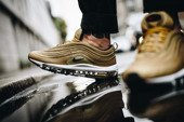 "Men's shoes sneakers Nike Air Max 97 ""Metallic Gold"" 884421 700"