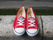WOMEN'S SHOES SNEAKER CONVERSE CT BALLET LACE 547166C
