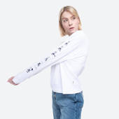 Wood Wood x Disney Astrid Longsleeve 12021505-2434 BRIGHT WHITE